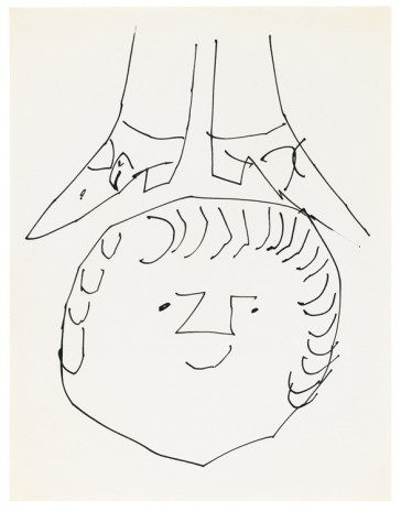 Andy Warhol, Sprite Head with Feet, ca. 1953 , Galerie Buchholz