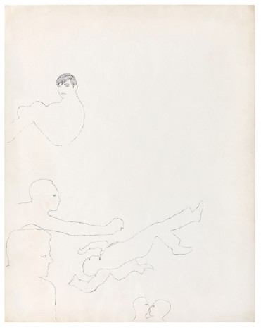 Andy Warhol, Blotted Line Figures, ca. 1953 , Galerie Buchholz
