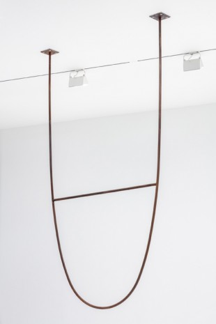 Theaster Gates, Ceiling Fixture for Ascots, 2019 , Regen Projects