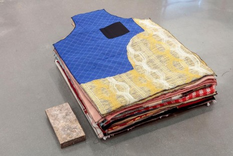 Theaster Gates, Plinth for Aprons, 2019 , Regen Projects