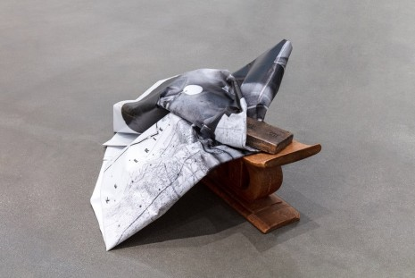 Theaster Gates, Lerone's Headrest on These Streets, 2019 , Regen Projects