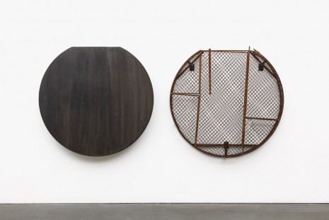 Theaster Gates, Steel and Fence Dispensers, 2019 , Regen Projects