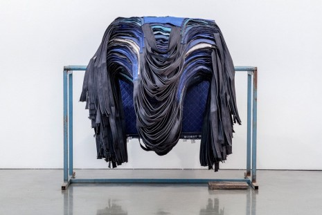 Theaster Gates, Rack of Aprons, 2019 , Regen Projects