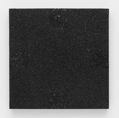 Mary Corse, Untitled (Black Light Painting, Glitter Series), 1976, Lisson Gallery