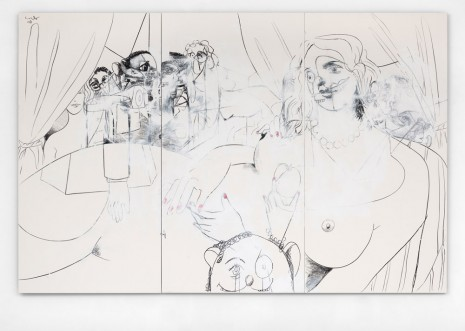 George Condo , Large Figure Composition, 2008 , Simon Lee Gallery