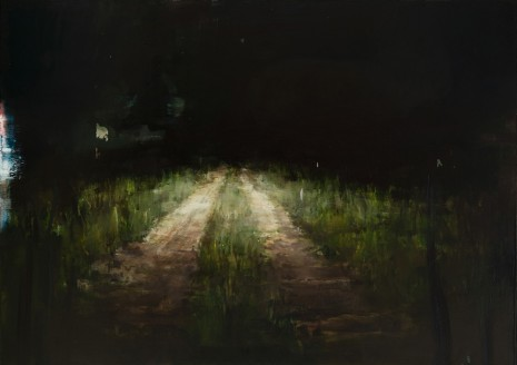 Alex Kanevsky, Road with Headlights, 2019