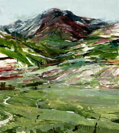 Alex Kanevsky, The Mountain with the Valley, 2018, Hollis Taggart