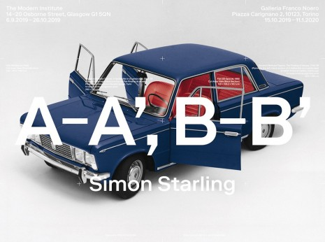Simon Starling, A-A' B-B', 2019 , The Modern Institute