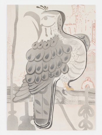 Matthew Lutz-Kinoy, City Falcon, 2019 , Mendes Wood DM