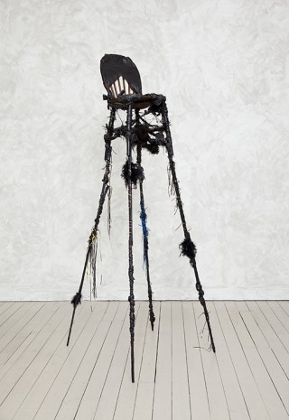 Wangechi Mutu, blackthrone II, 2011, Gladstone Gallery