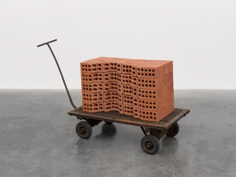 Mona Hatoum, A Pile of Bricks, 2019 , White Cube