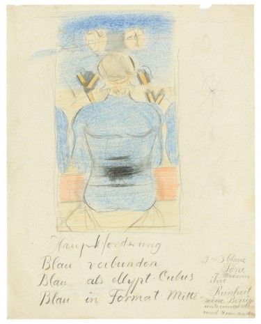Otto Meyer-Amden, Study for 'Preparation' ('Vorbereitung'), ca. 1925-1928 , Galerie Buchholz