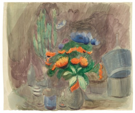 Otto Meyer-Amden, Still life with flowers, ca. 1928-1930 , Galerie Buchholz