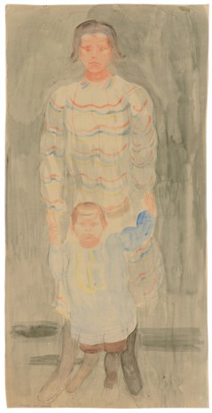 Otto Meyer-Amden, Mother with child, 1918-1925 , Galerie Buchholz