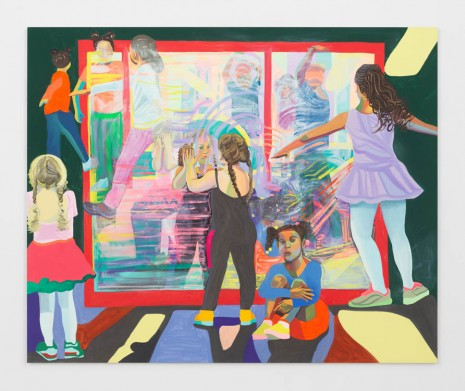 Aliza Nisenbaum, Washington Heights Kids Merengue Dance Class, 2019, Anton Kern Gallery