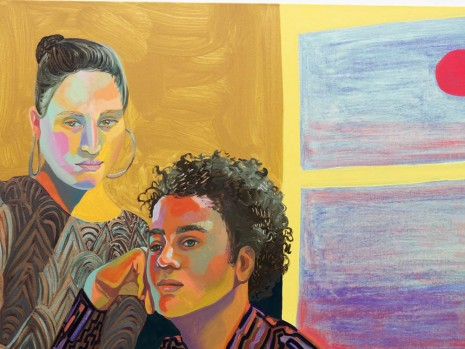 Aliza Nisenbaum, Ximena and Randy, Sunrise, 2018 , Anton Kern Gallery