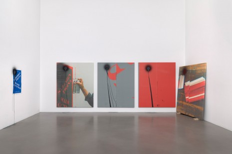 Group show, Wade Guyton and Stephen Prina, Petzel Gallery