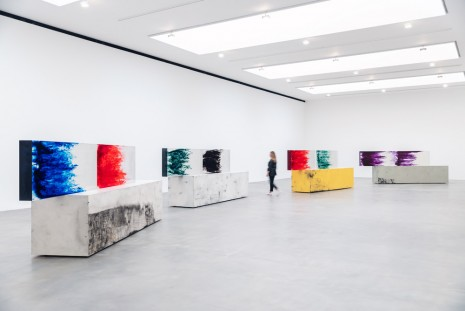 Sterling Ruby, ACTS + TABLE, Gagosian