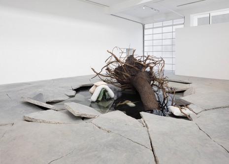 Tatiana Trouvé, On the Eve of Never Leaving, Gagosian