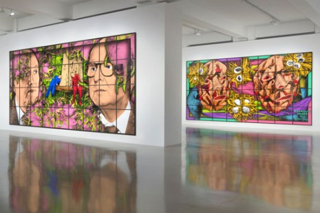 Gilbert & George, THE PARADISICAL PICTURES, Sprüth Magers