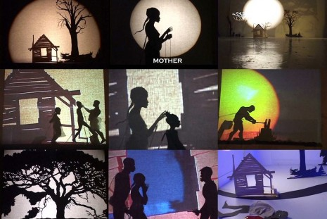 Kara Walker, From Black and White to Living Color: The Collected Motion Pictures and Accompanying Documents of Kara E. Walker, Artist., Sprüth Magers