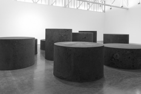 Richard Serra, Forged Rounds, Gagosian