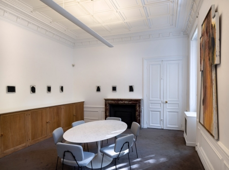 Arnulf Rainer, Recouvrements, Galerie Lelong & Co.