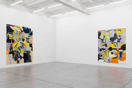 Michael Williams, New Paintings, Galerie Eva Presenhuber
