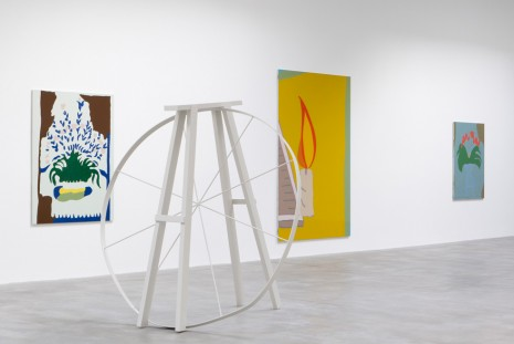 Gary Hume, Destroyed School Paintings, Matthew Marks Gallery
