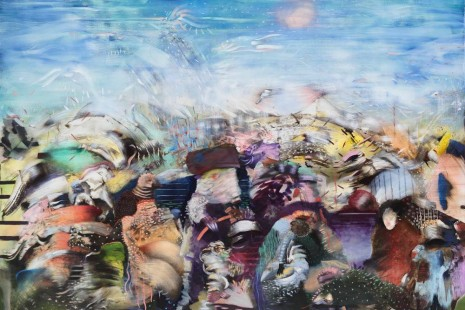 Ali Banisadr, Ordered Disorders, Galerie Thaddaeus Ropac