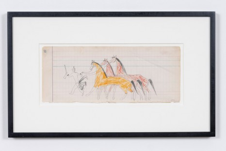 , Plains Ledger Drawings, 1870 - 1920 / Works from Donald Ellis Gallery, STANDARD (OSLO)
