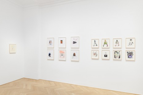Carroll Dunham, Michael Williams, Drawings, Galerie Max Hetzler
