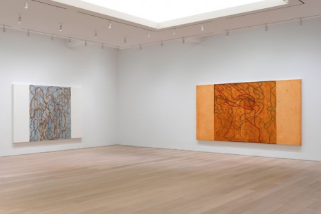 Brice Marden, It reminds me of something, and I don't know what it is., Gagosian