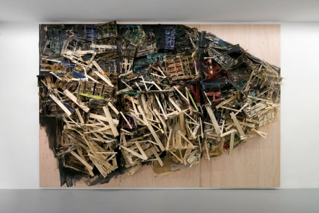 Tadashi Kawamata, Destruction Site Sketches, kamel mennour