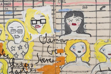 Rose Wylie, painting a noun..., David Zwirner