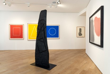 David Nash, Red, Black & Blue, Galerie Lelong & Co.