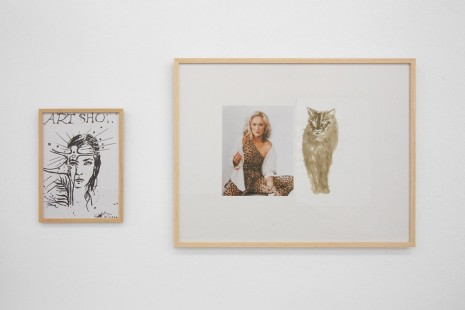 Ceal Floyer, Simone Forti, Wineke Gartz, Jef Geys, Nicolás Guagnini..., A Drawing Show - Curated by Dan Graham, Galerie Micheline Szwajcer (closed)