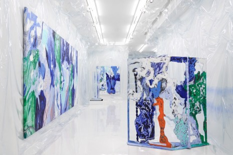 Donna Huanca, WET SLIT, Simon Lee Gallery