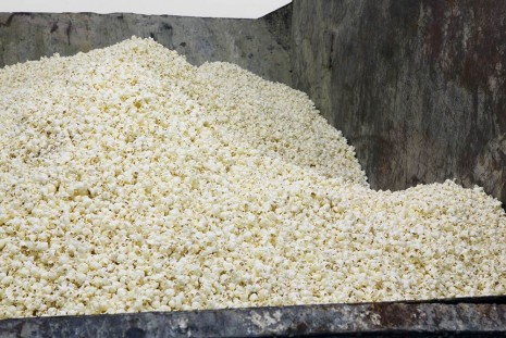 Gabriel Kuri, Untitled (skip with pop corn), Galleria Franco Noero