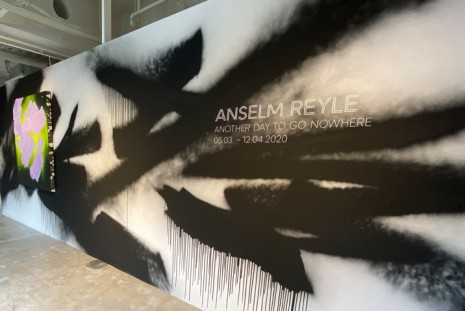 Anselm Reyle, Another Day To Go Nowhere, König Galerie