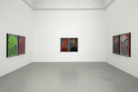David Tremlett, 13 Diptychs | Room 5 - Wall Drawing, Alfonso Artiaco