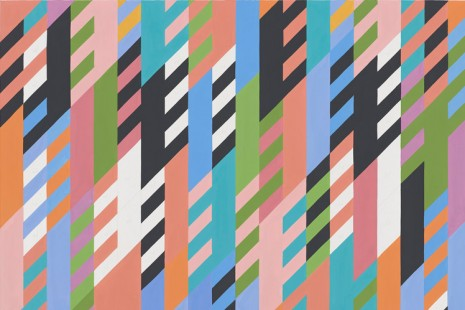 Bridget Riley, Studies: 1984–1997, David Zwirner