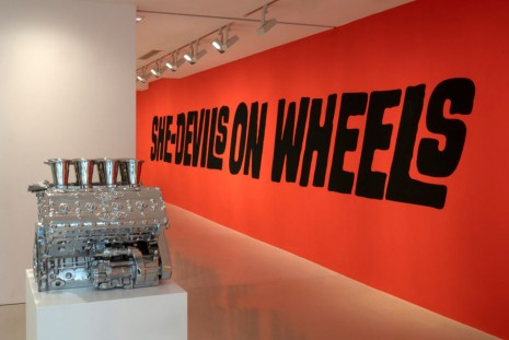 Sylvie Fleury, She-Devils on Wheels, Galerie Thaddaeus Ropac