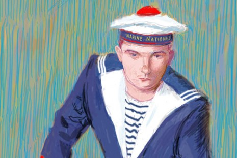 David Hockney, Portraits, Galerie Lelong & Co.