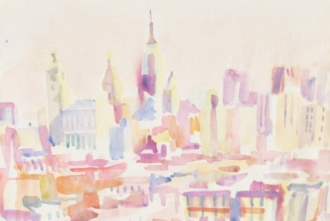 Maria Lassnig, Ode to New York: Drawings, 1968–1980, Petzel Gallery