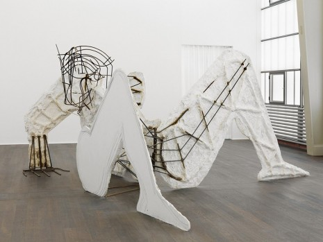 Thomas Houseago, The mess I'm looking for, Hauser & Wirth