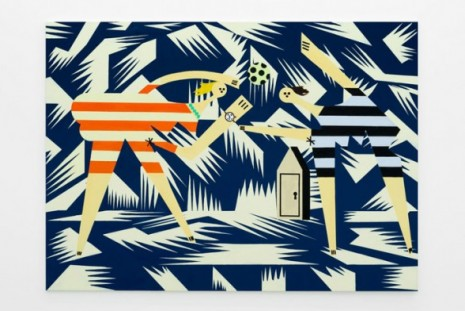 Farah Atassi, Paintings, Almine Rech