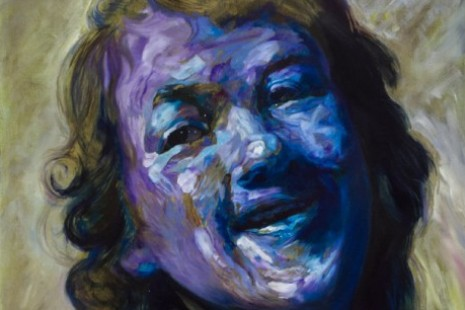 Maria Brunner, Portraits: the exaggerated and the idiots, Rembrandt laughing, Galerie Elisabeth & Klaus Thoman