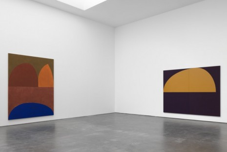Suzan Frecon, oil paintings, David Zwirner