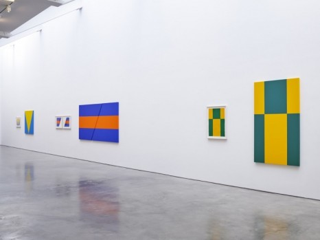 Carmen Herrera, Painting in Process, Lisson Gallery